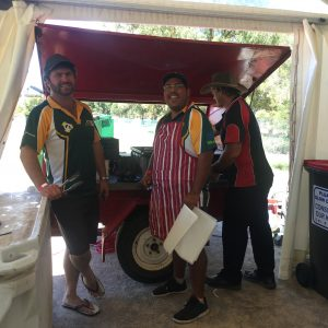 AFL Game Food Tent